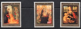 1984 Niger Christmas Airmail Art Paintings  Complete Set Of 3 MNH - Níger (1960-...)