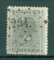 """BELGIE - OBP Nr 17A - Leopold I - Puntstempel  Nr 234 """"MANAGE"""" - (ref. ST-245) - Postmarks - Points"""