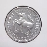 Duitsland 100 Mark 1923, Aluminium, Notmünzen No 14, Unc - [ 3] 1918-1933: Weimarrepubliek