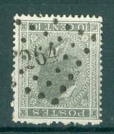 """BELGIE - OBP Nr 17 - Leopold I - Puntstempel  Nr 264 """"NAMUR"""" - (ref. ST-249) - Postmarks - Points"""
