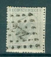 """BELGIE - OBP Nr 17A - Leopold I - Puntstempel  Nr 272 """"NIVELLES"""" - (ref. ST-250) - Postmarks - Points"""