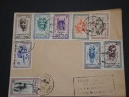 COTE D'IVOIRE - Env Commémorative Foire Agricole De Gagnoa - 1960 - A Voir - P17665 - Ivory Coast (1960-...)