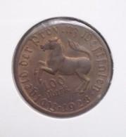 Duitsland  100 Mark 1923, Tombak, Notmünzen No 12, Unc - [ 3] 1918-1933: Weimarrepubliek
