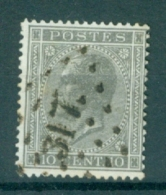 """BELGIE - OBP Nr 17A - Leopold I - Puntstempel  Nr 317  """"ROUX"""" - (ref. ST-254) - Postmarks - Points"""