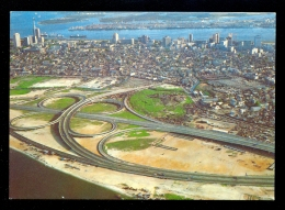 Lagos Aerial View From Lagos Lagoon / Postcard Not Circulated - Nigeria