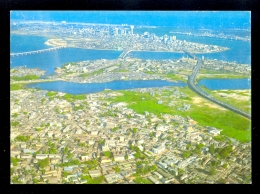 Three Bridges To Lagos Island, Lagos, Nigeria / Postcard Not Circulated - Nigeria