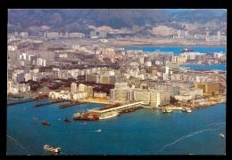 Panoramic View Of Kowloon Peninsula / Postcard Not Circulated - Cina (Hong Kong)