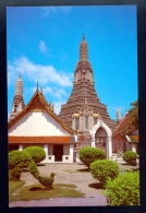 The Great Pagoda Of The Temple Of Dawn / Postcard Not Circulated - Thailand