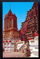 Mondhop And Pagoda Of Wat Arun (Temple Of Dawn) / Postcard Not Circulated - Thailand