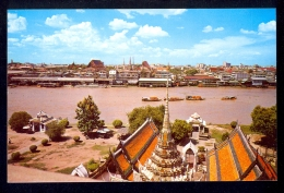The Chaw Phra-Ya River / Postcard Not Circulated - Thailand