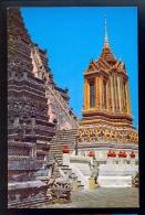 Mondhop And Pagoda Of Wat Arun / Postcard Not Circulated - Thailand