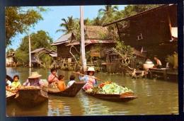 Beautiful View Of Klong (Canal) / Postcard Not Circulated - Thailand