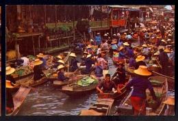Damnernsaduak Floating Market / Postcard Not Circulated - Thailand