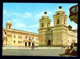 Lima, Iglesia Y Convento San Francisco / Postcard Not Circulated - Peru