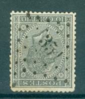 """BELGIE - OBP Nr 17 - Leopold I - Puntstempel  Nr 351  """"TERMONDE"""" - (ref. ST-259) - Postmarks - Points"""