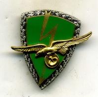 Insigne Escadron De Cables Hertziens 10/803,BORDEAUX___drago - Armée De L'air