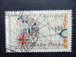 CABO VERDE 1952 Mapa Yvert Nº 269 º FU - Kapverdische Inseln
