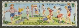 Isle Of Man 1989 Mi 404-405 ** Children´s Games Outside / Spiele Für Kinder / Jeux Pour Enfants / Buitenspelen - Europa - Kindertijd & Jeugd