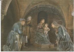 Modena, Cripta Del Duomo, Terracotta S. Famiglia, Presepe Del Porrini, Madonna Della Pappa, Di Guido Mazzoni (1450-1518) - Modena