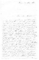 L.A.S.Valérie Lapierre.Rouen Le 30 Mai 1861. - Autographes