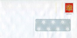 """PAP Sur Papier Ordinaire Avec Fenêtre De 30 X 100 Mm Et Timbre """"Armoiries - Lettre Prioritaire"""" - Entiers Postaux & Prêts-à-poster"""