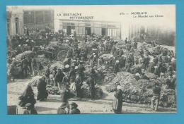 CPA 650 - Le Marché Aux Choux MORLAIX 29 - Morlaix