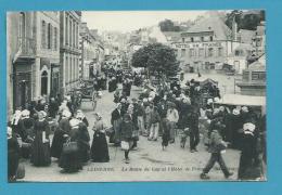 CPA - Le Marché Route Du Cap AUDIERNE 29 - Audierne
