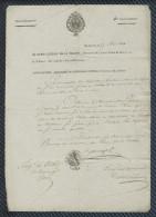 Marine Royale - Maintien Sur Le Brick L'EPERVIER - Port De ROCHEFORT (1816) - 1801-1848: Precursors XIX