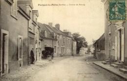 D 72 - PARIGNE-LE-POLIN - Centre Du Bourg - France