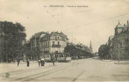 Dép 67 - Chemins De Fer - Tramways - Tramway - Strasbourg - Rue De La Forêt Noire - Bon état - Strasbourg