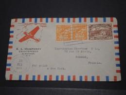 SAN SALVADOR - Env Par Avion Pour Rennes France - Sept 1939 - A Voir - P17682 - Salvador