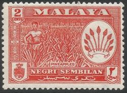 Negri Sembilan (Malaysia). 1957-63 Arms. 2c MH SG 69 - Negri Sembilan
