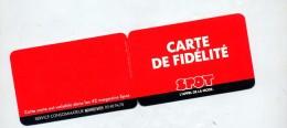 Carte De Fidelité Mode Spot - Cartes Cadeaux