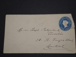CANADA - Entien Pour Montreal - 1894 - A Voir - P17684 - 1860-1899 Regering Van Victoria