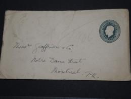CANADA - Entien Pour Montreal - 1894 - A Voir - P17686 - 1860-1899 Regering Van Victoria