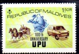 MALDIVES  N° 475  * *  Upu  Auto Voiture - Voitures