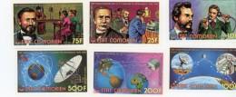 Comores-1976-Téléphonie Et Espace-MI288/93***MNH Dentelé - Afrika