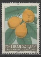 LEBANON 1962 Fruits -  70p. - Medlars  FU - Liban