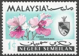 Negri Sembilan (Malaysia). 1965-69 Orchids. 1c MH SG 81 - Negri Sembilan