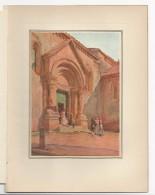 SAN QUIRICO D´ORCIA  Siena - Splendida Tavola A Colori Inglese Del 1913 - Stampe & Incisioni