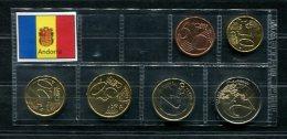 3931 - ANDORRA - EURO-Kurzsatz (5 Cent - 2 Euro) 2014. - Andorra