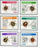 (cl. 36 - P.32) Mozambique * N° 731 à 736 - Insectes Du Mozambique - - Insectes