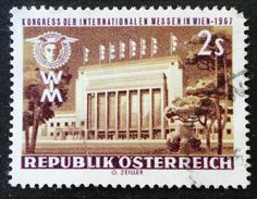 FACADE DE LA FOIRE AU PRATER 1967 - OBLITERE - YT 1081  - MI 1247 - 1945-.... 2ème République