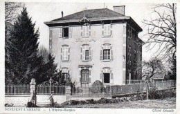 23 Bénévent-l'Abbaye Hôpital- Hospice 1943 - Benevent L'Abbaye