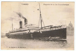 Le Timgad    Compagnie Transatlantique - Paquebots