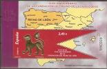 2010 HOJITA REINO DE LEON ¡¡A FACIAL!!!! - 1931-Aujourd'hui: II. République - ....Juan Carlos I