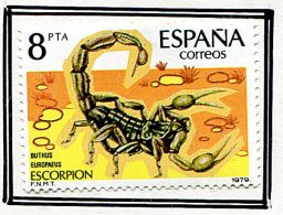 (cl. 36 - P.47) Espagne *  N° 2175  - Scorpion - - Insectes