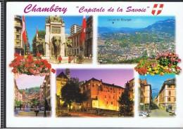 Cp 73_CHAMBERY Capitale De La Savoie, Multivues Ed Edy N° 73/1057.O - Chambery