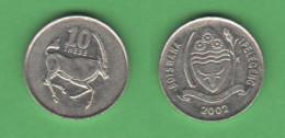 Botswana 10 Thebe 2002 - Botswana