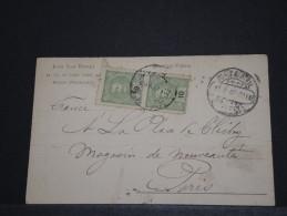 PORTUGAL - Carte Commerciale - Fev 1907 - A Voir - P17724 - Covers & Documents